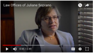 video of the Law Office of Juliane Soprano