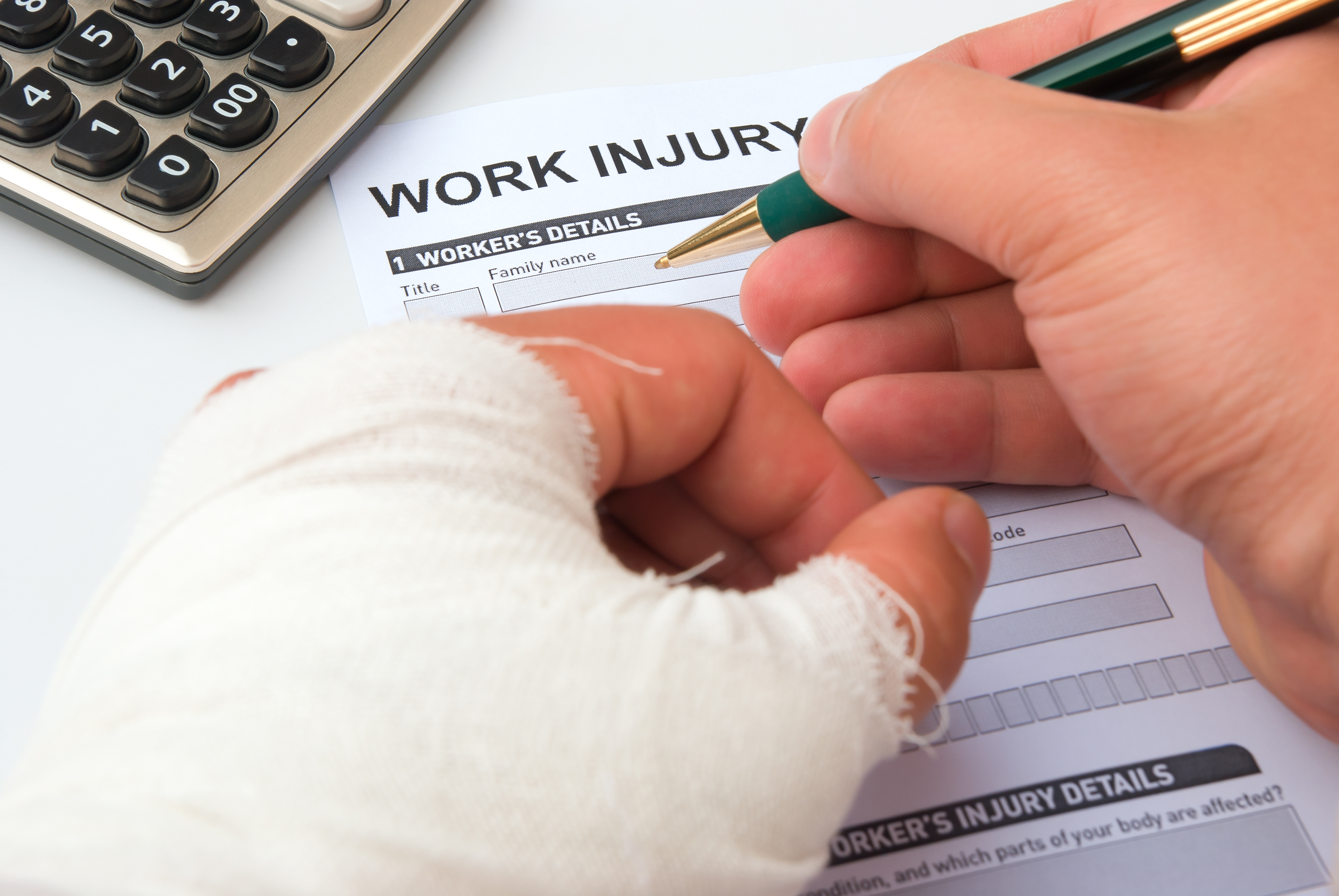 partial disability workplace injury