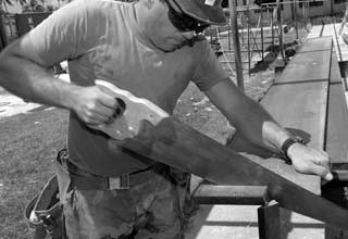 Workplace Injuries - Construction Worker
